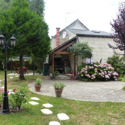 Gîte Les Clématites Chouzé-sur-Loire : accès