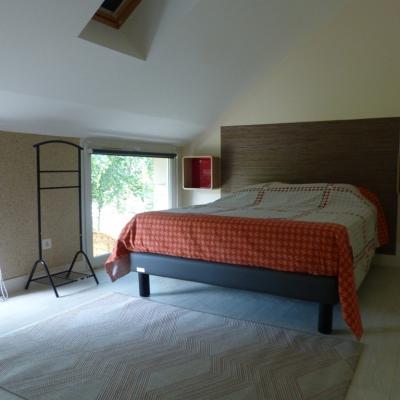 Gîte Les Clématites Chouzé-sur-Loire : chambre double