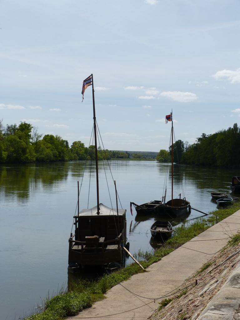 Vue de la Loire à Chouzé