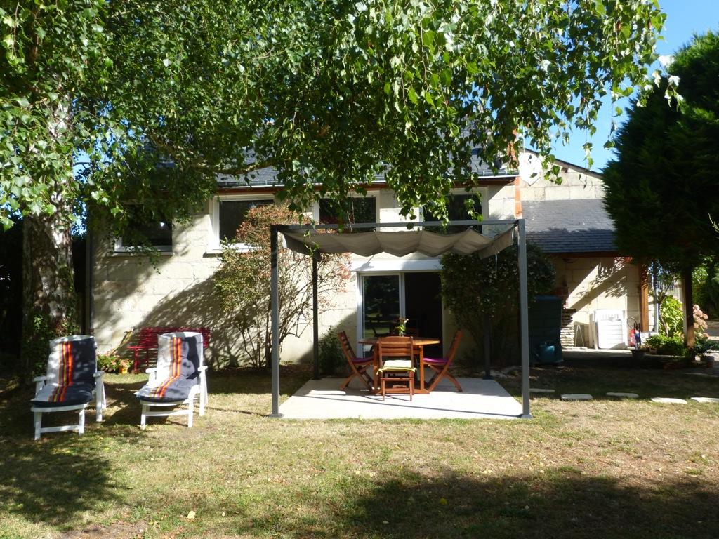 Gite Les Clématites Chouzé-sur-Loire : coté parc